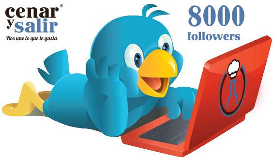 8000 seguidores de Cenarysalir